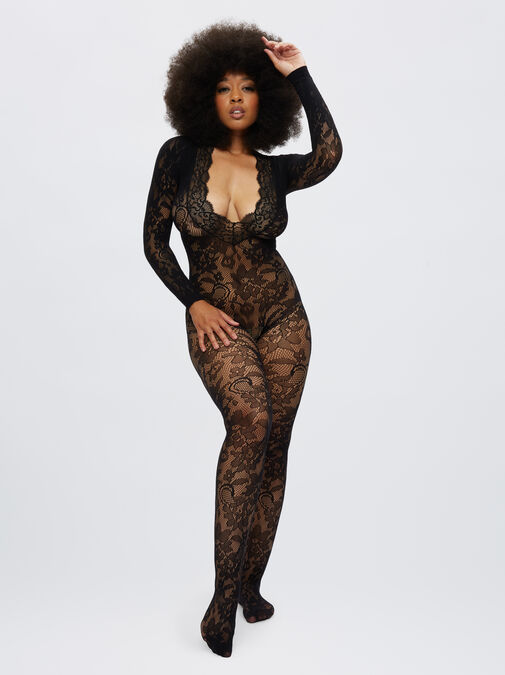 The Supreme Crotchless Bodystocking image number 2.0