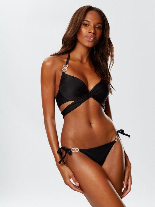 Monaco Tie Side Bikini Bottom image number 2.0