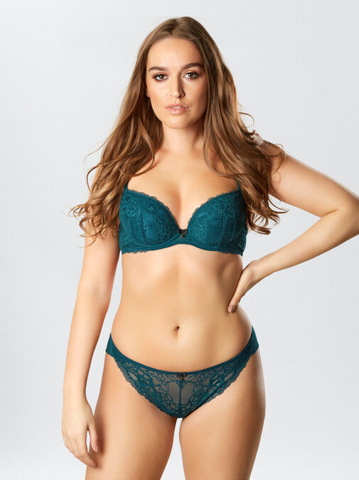 Sexy Lace Plunge Bra image number 0.0