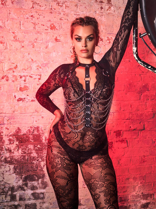 The Supreme Crotchless Bodystocking image number 3.0