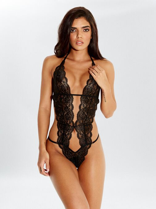 Lace Body with Vibrating Bullet image number 0.0