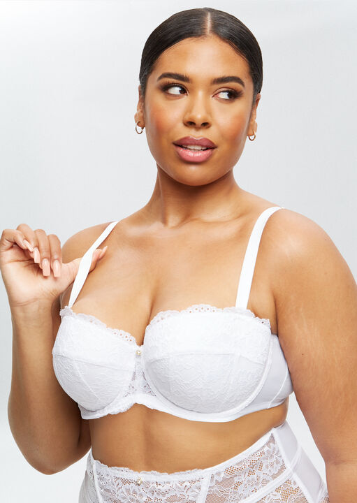 Sexy Lace Sustainable Balcony Bra image number 8.0