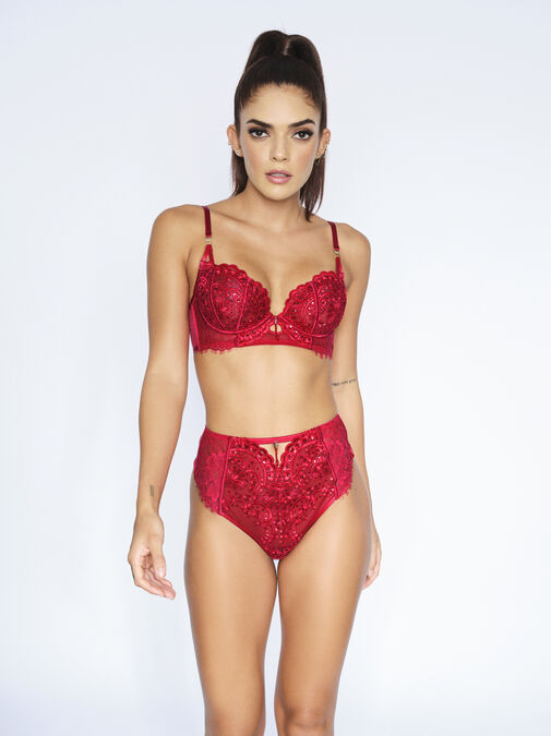 Fiercely Sexy Non Padded Bra image number 0.0