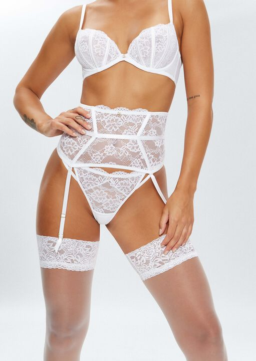 Sexy Lace Sustainable Waspie  image number 0.0