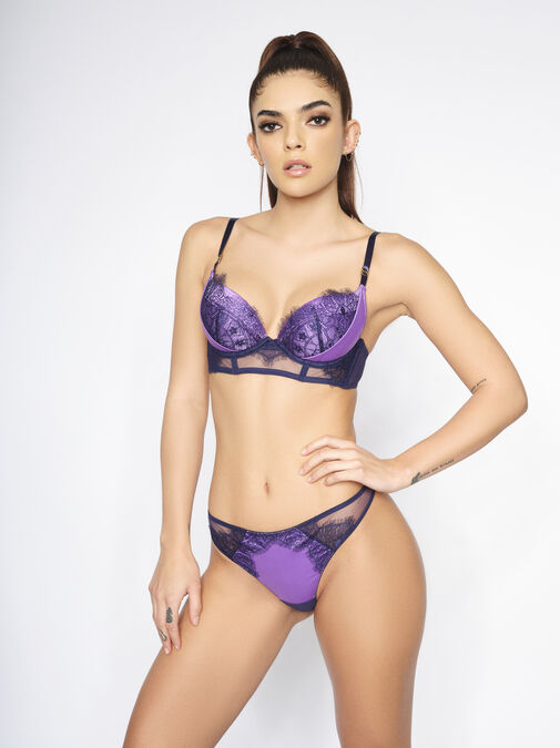 The Siren Plunge Bra image number 1.0