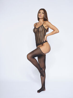The Attitude Crotchless Bodystocking