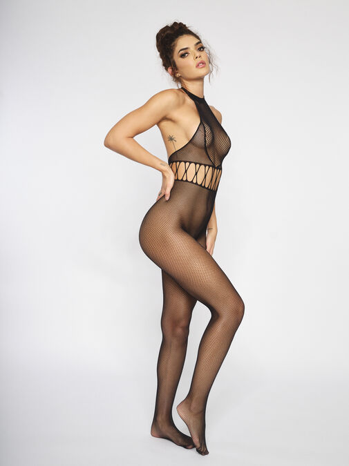 The Rise Crotchless Bodystocking image number 0.0