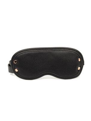 Signature Faux Leather Blindfold