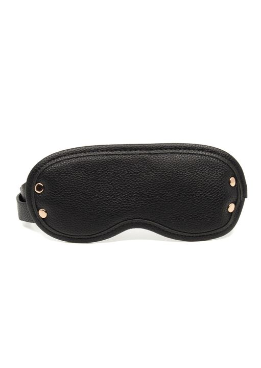 Signature Faux Leather Blindfold image number 0.0