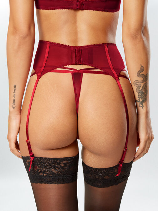 Vivacious Vixen Suspender Belt image number 1.0