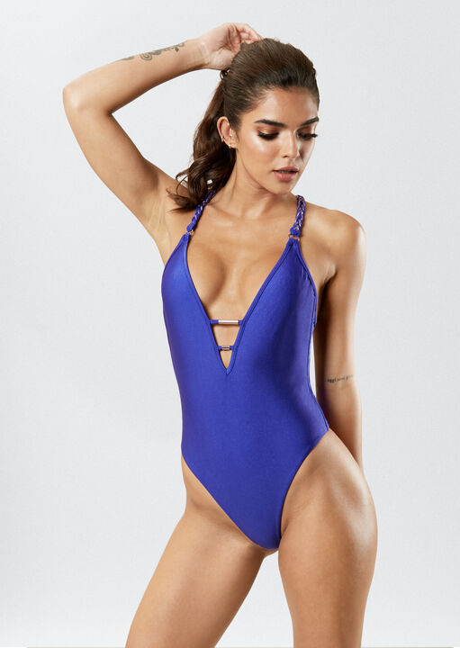 The Midnight Dip Swimsuit image number 1.0