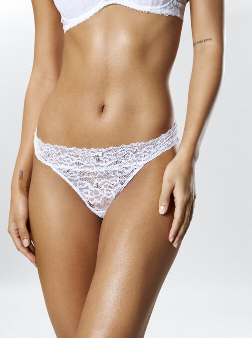 Sexy Lace Demi Thong image number 0.0