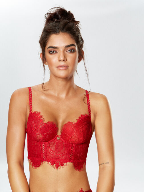 Lipsy Lonnie Non Padded Bra image number 2.0