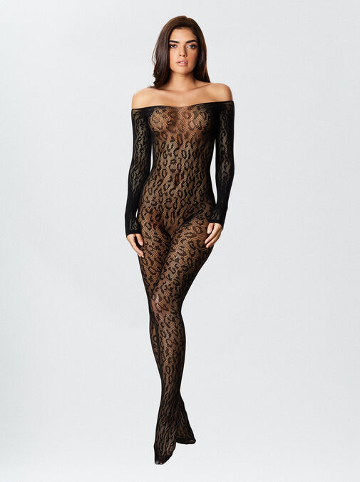 The Wild One Crotchless Bodystocking image number 3.0