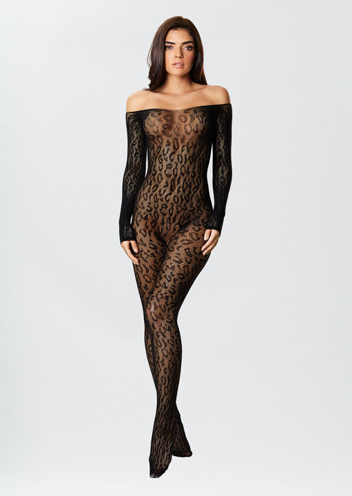 The Wild One Crotchless Bodystocking image number 1.0