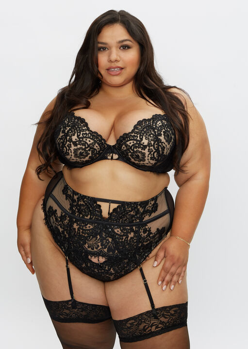 Fiercely Sexy Plunge Bra image number 2.0