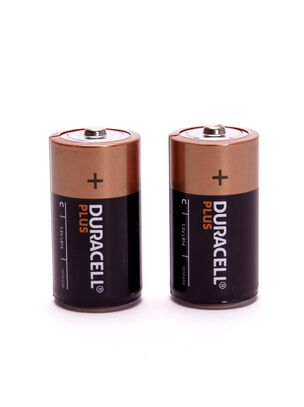 Duracell+ C 2 Pack