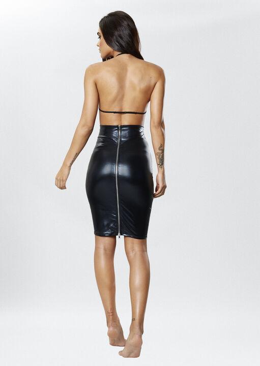 Zuri Wet Look Skirt image number 2.0