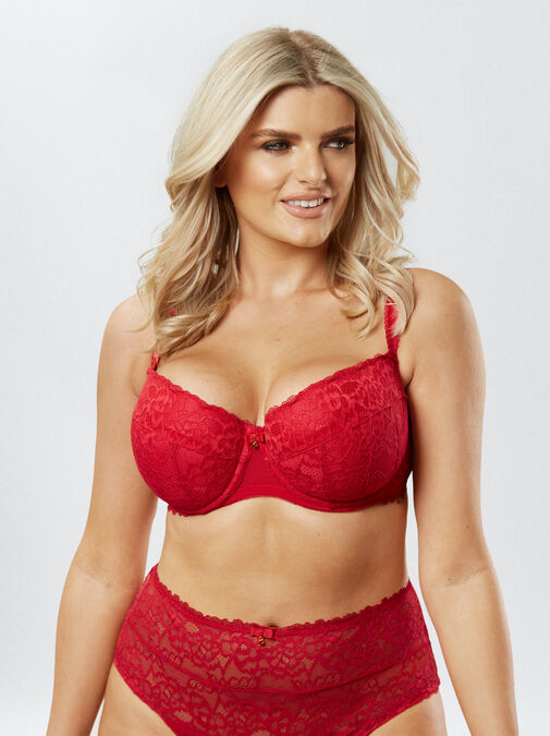 Sexy Lace Balcony Bra image number 6.0