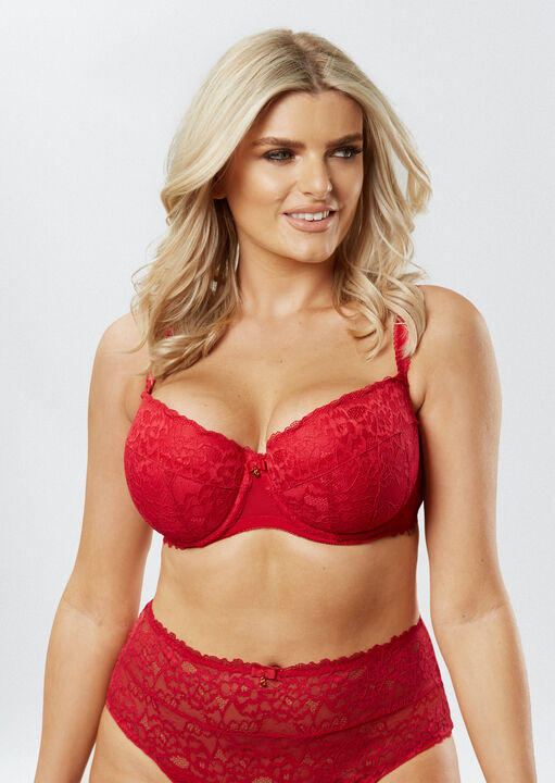 Sexy Lace Balcony Bra image number 8.0