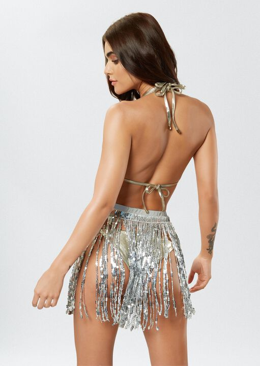 The Dazzling Sequin Skirt image number 3.0