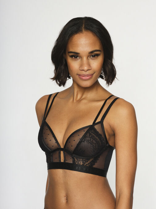 Knickerbox Planet - The Free Spirit Longline Non Padded Bra image number 3.0