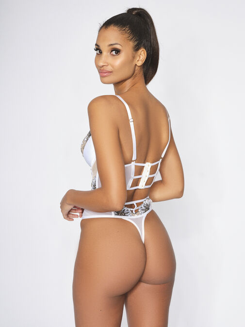 The Innocence High Waisted Thong image number 3.0