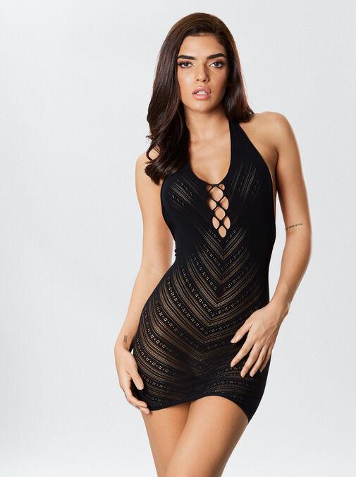 The Sensuous Mini Dress image number 1.0