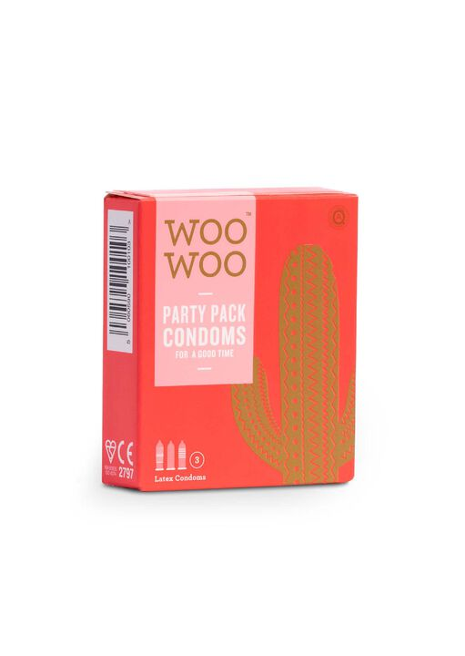 Woo Woo Party pack Condoms 3 Pack image number 0.0