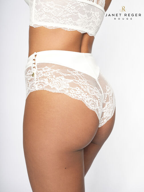 Janet Reger Bride To Be High Waisted Brazilian image number 1.0