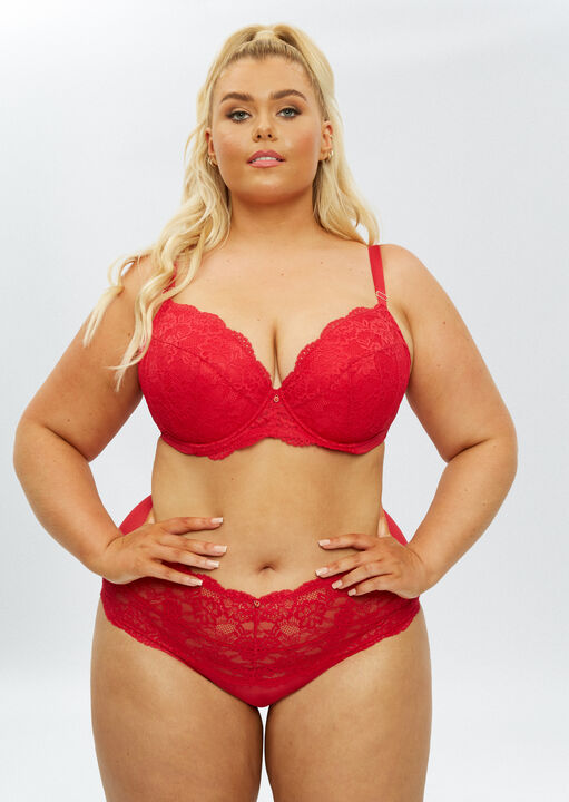Sexy Lace Sustainable High Waisted Brief image number 10.0