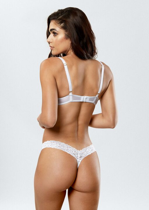 Sexy Lace Demi Thong image number 3.0