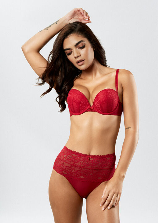 Sexy Lace High Waisted Brief image number 2.0