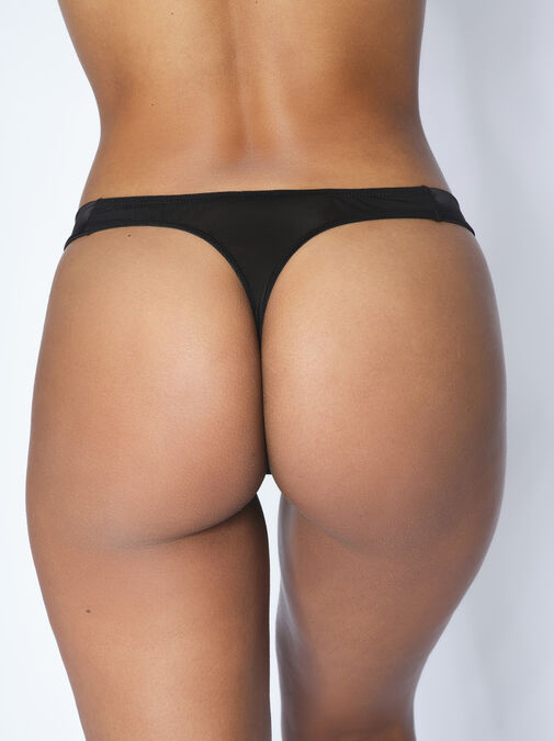 The Seductive Touch Thong image number 1.0