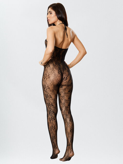 The Hottie Crotchless Bodystocking image number 2.0