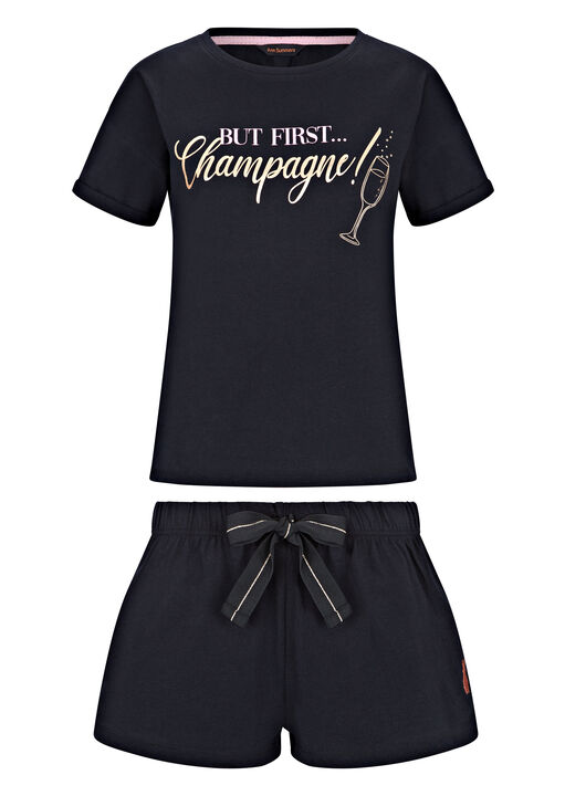 Champagne Tee Cami Set image number 6.0