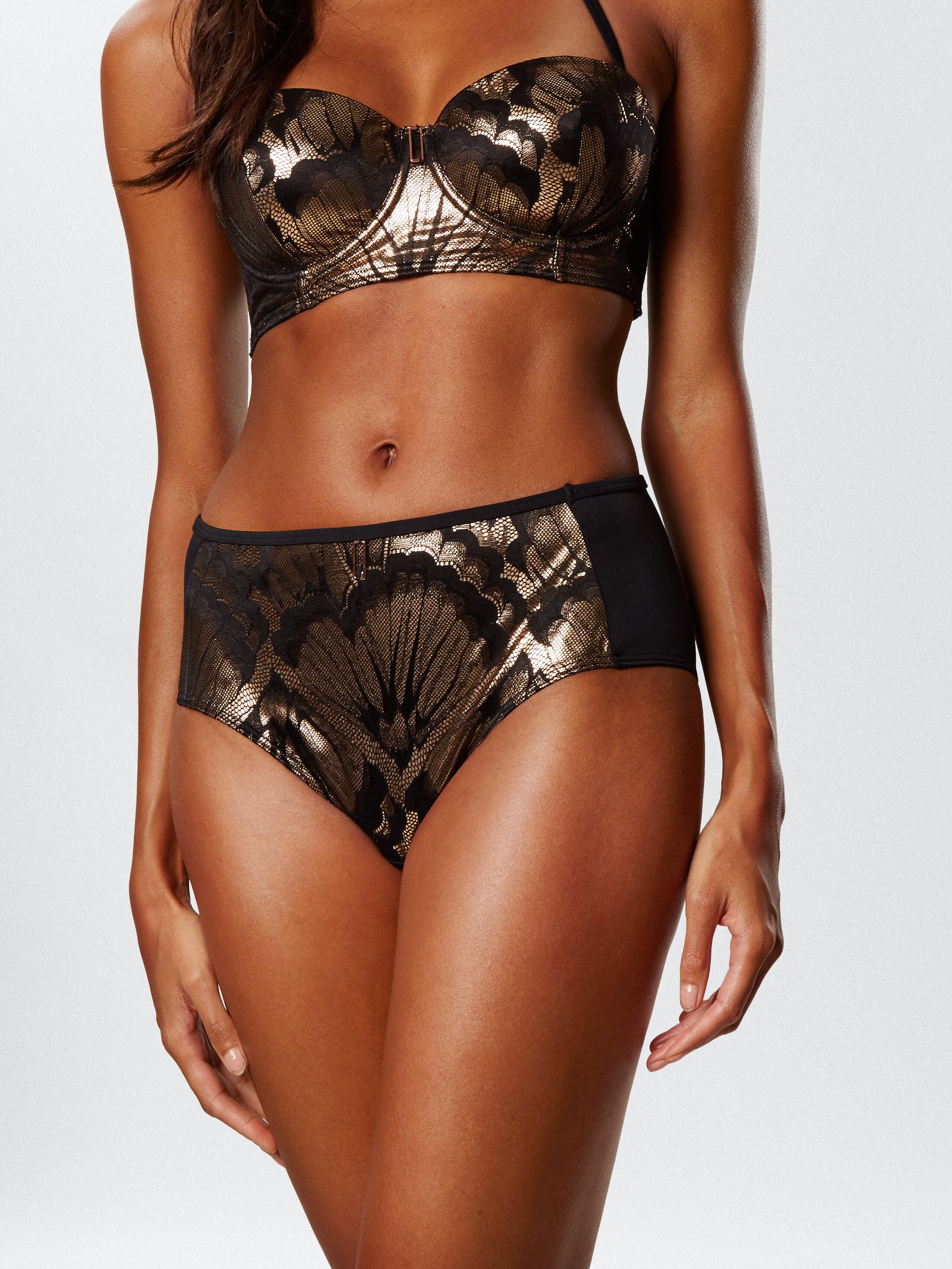 Azores High Waisted Bikini Bottom
