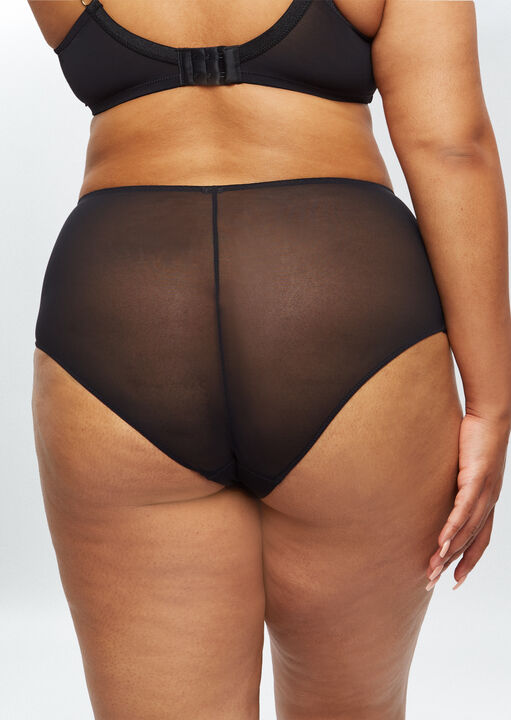 Sexy Lace Sustainable High Waisted Brief image number 4.0