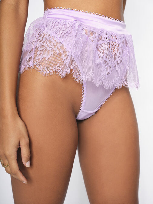 The Blossom High Waisted Thong image number 0.0