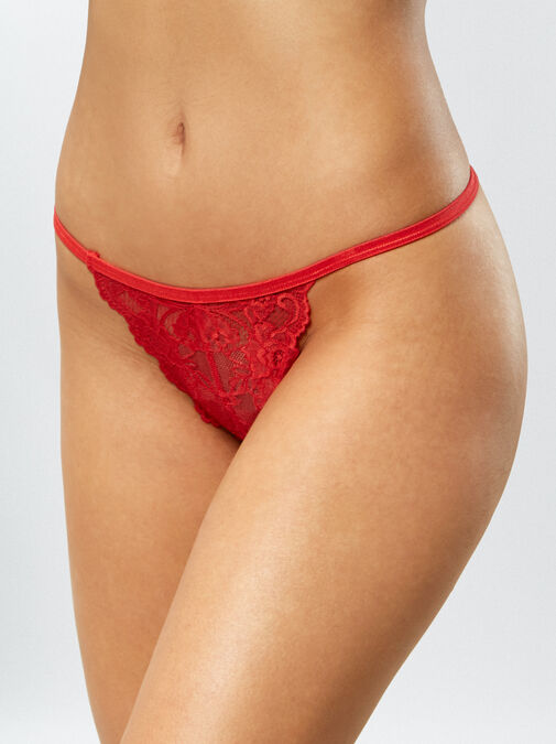Patrice 3 Pack Crotchless String image number 5.0