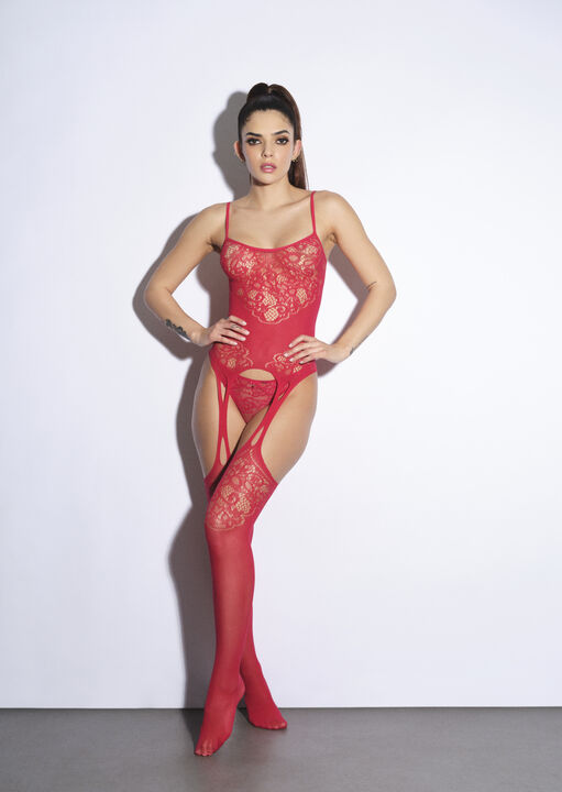 The Flaunted Crotchless Bodystocking image number 0.0