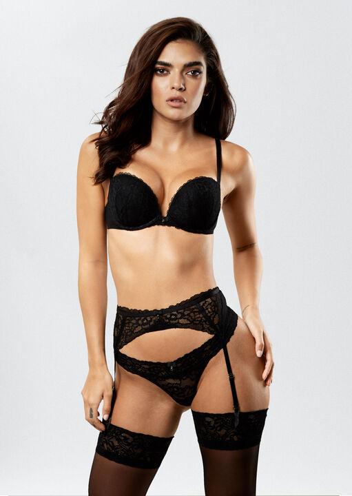 Sexy Lace Suspender Belt  image number 2.0