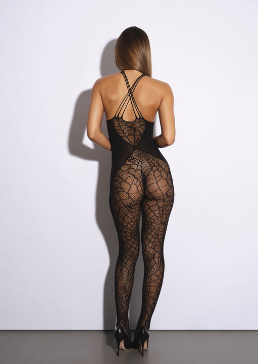 Black Widow Crotchless Bodystocking image number 5.0