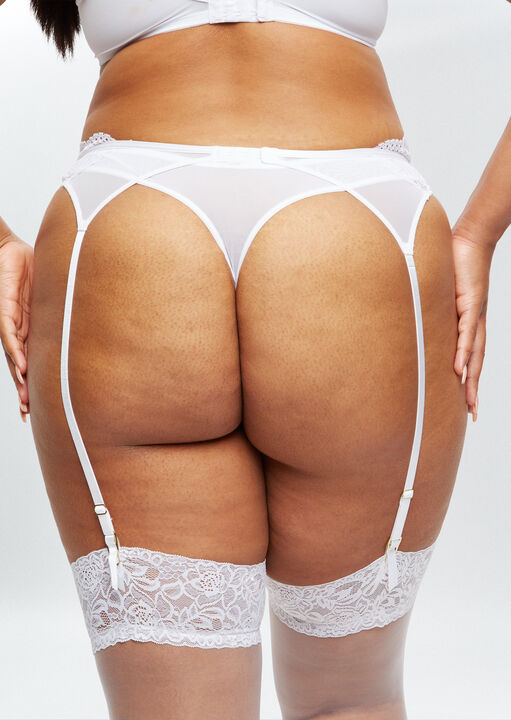 Sexy Lace Sustainable Suspender Belt image number 3.0