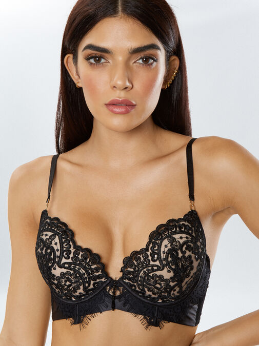 Fiercely Sexy Push Up Plunge Bra image number 3.0
