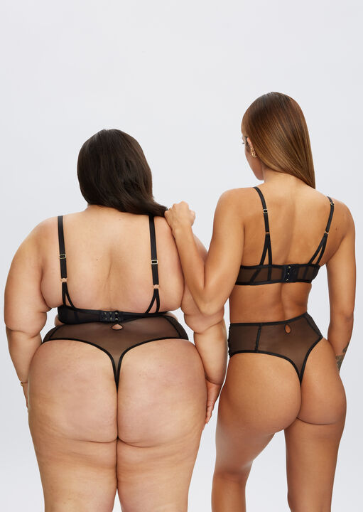 Fiercely Sexy High Waisted Thong image number 4.0
