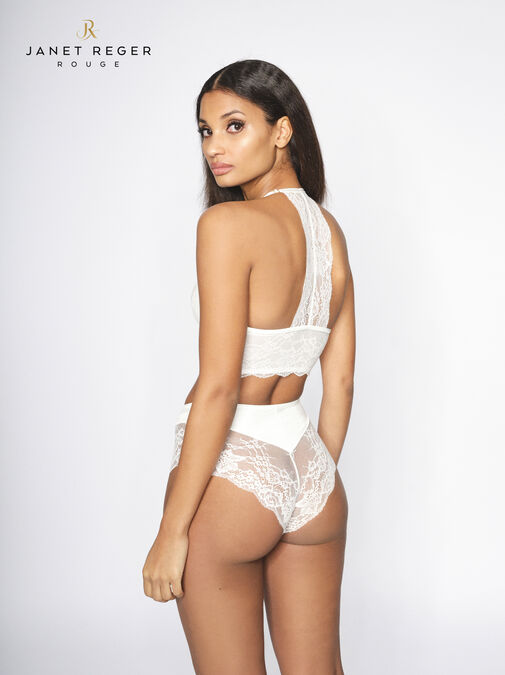Janet Reger Bride To Be High Waisted Brazilian image number 3.0