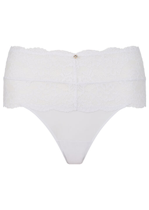 Sexy Lace Sustainable High Waisted Brief image number 11.0