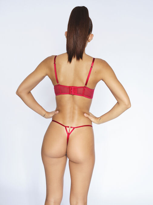 Fiercely Sexy Crotchless Thong  image number 3.0