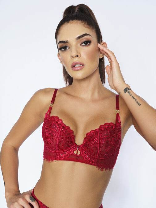 Fiercely Sexy Non Padded Bra image number 2.0